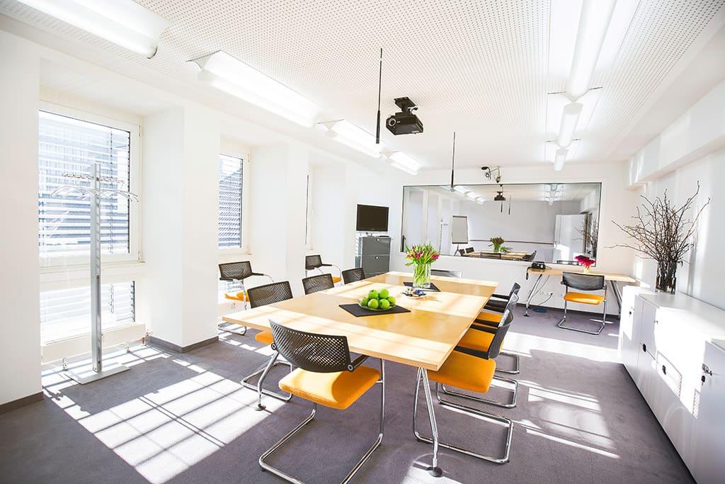 Teststudio Düsseldorf - Diskussionsraum